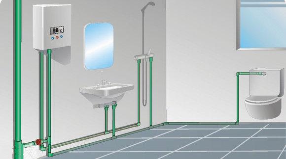 合肥家庭裝修,排水管道施工有哪些要點?
